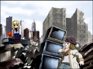 Down in the junkyard