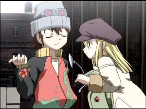 Takumi's digging for info