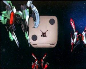 Galaxy Angel - Q-Taro, the demonic flying dice
