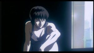 Ghost in the Shell - A quiet moment for Motoko