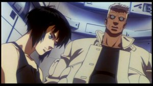 Ghost in the Shell - Motoko and Batou