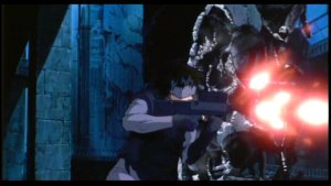 Ghost in the Shell - One woman versus a tank