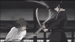 Training with Jubei