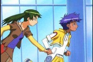 Stellvia - Akira & Jojo run decoy