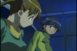Stellvia - Shipon and Kouta enjoy a quiet moment