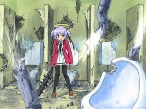 Bokusatsu Tenshi Dokuro-chan - Dokuro-chan goes looking for Sakura